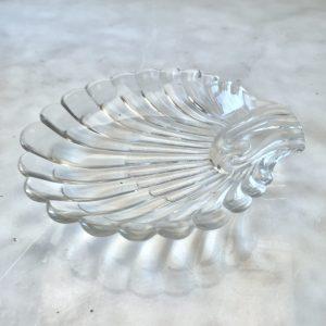 Glazen schelp schaaltje
