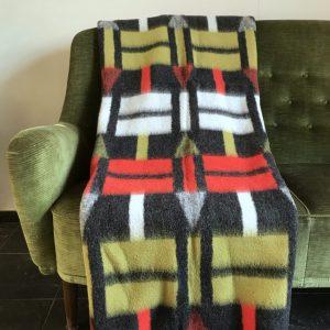 Vintage wollen deken