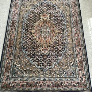 Vintage Perzisch kleurrijk vloerkleed