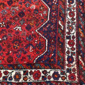 Rood Oosters vloerkleed (groot)