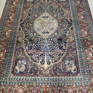 Vintage oosters/ Perzisch vloerkleed kleurijk