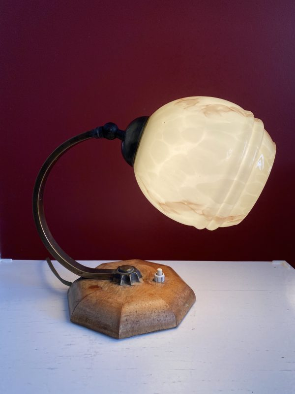 art deco schemerlamp