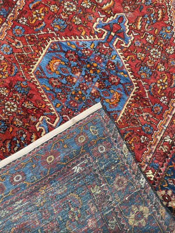 perzisch vloerkleed blauw