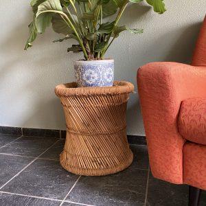 Bamboe/rotan (planten) krukje