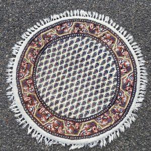 Vloerkleed rond oosters (92cm)