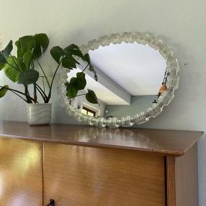 Spiegel ovaal 70x50cm