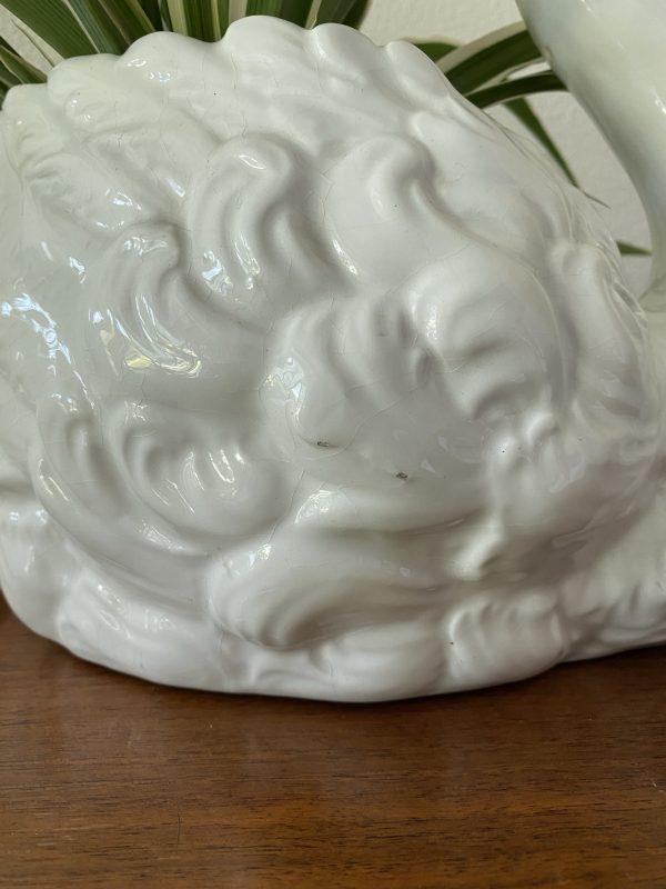zwaan vaas zwanenvaas vorm keramiek vintage