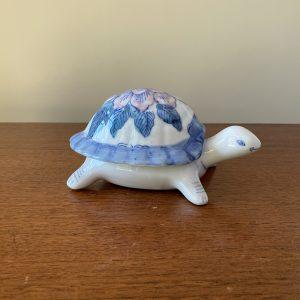 Keramiek schildpad (juwelen) doosje