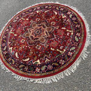 Rond Perzisch vloerkleed groot (180cm)