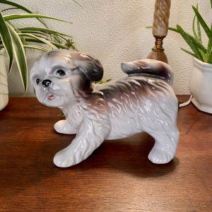 Keramiek hond Shih tzu (16cm hoog)