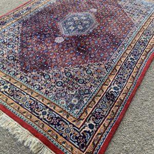 Handgeknoopt kleurrijk vloerkleed 240x173cm