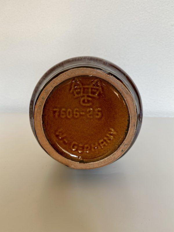 west germany vaas carstens 7606-25 bruin wit blauw