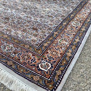 Perzisch vloerkleed Herati grijs 176×249