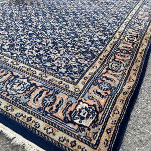 Perzisch vloerkleed Herati marineblauw 171x248cm