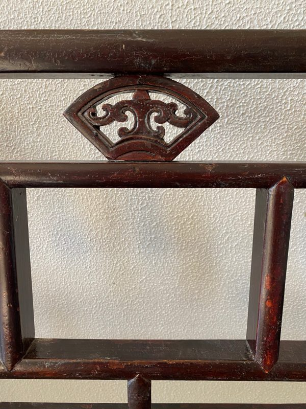 Chinese bench bank chinees hout antiek antique handgemaakt