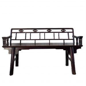 Chinese bank van hout – Antiek
