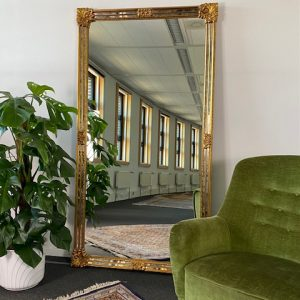 XL Vintage DeKnudt design spiegel 185x100cm
