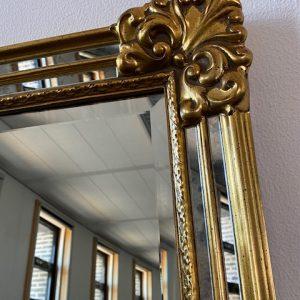 Vintage DeKnudt design spiegel 120x90cm