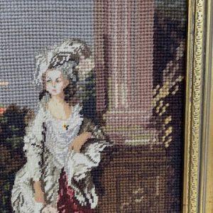 Geborduurd schilderij 32x42cm