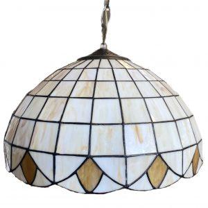 Hanglamp glas in lood Tiffany Ø 40cm