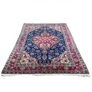 Handgeknoopt Perzisch kleed Keshan 197x297cm