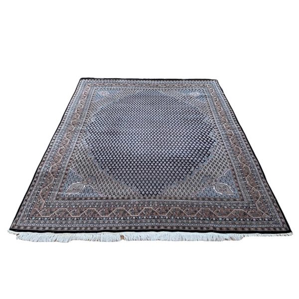 mir perzisch tapijt roze zwart kleed vloerkleed pers limburg vintage 2 bij 3