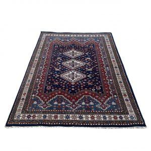 Handgeknoopt Perzisch Afshar vloerkleed 170x245cm